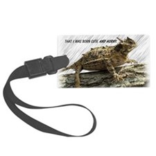 Horny Toad Pic cp Luggage Tag