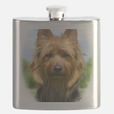 Australian Terrier 9R044D-19 Flask