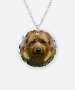 Australian Terrier 9R044D-19 Necklace