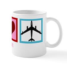 peaceloveflywh Small Mug