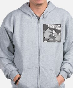 Why the Long Face - no text Zip Hoodie