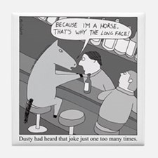 Why the Long Face Tile Coaster