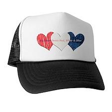 Heart_beats Trucker Hat