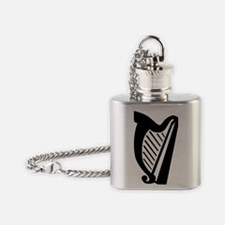 harp Flask Necklace