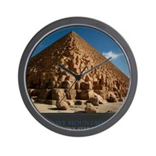I Move Mountains By Taking One Step At  Wall Clock