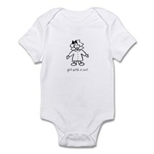 Giel With A Curl Infant Bodysuit