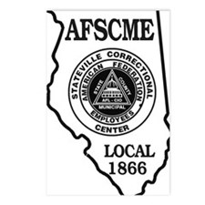 2afscme Postcards (Package of 8)