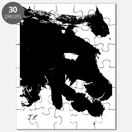 dragon by Jett panel print Puzzle