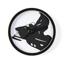 snowmobile01 Wall Clock