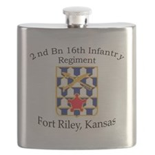 2nd Bn 16th Infantry Flask