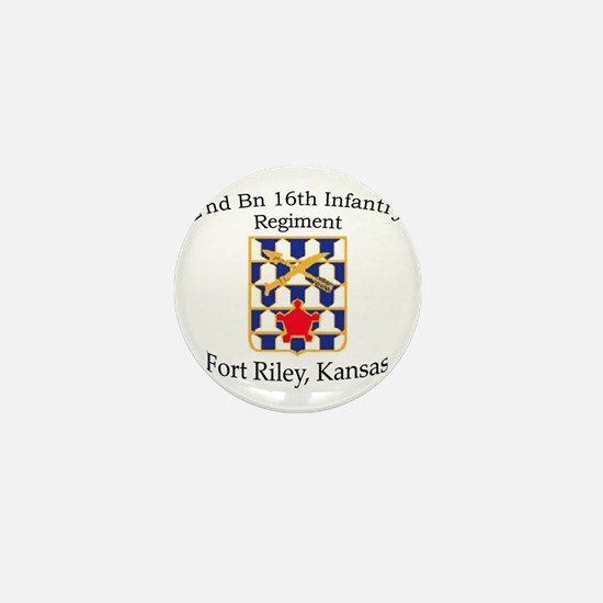 2nd Bn 16th Infantry Mini Button