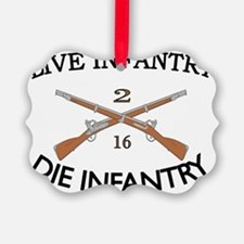 2nd Bn 16th Infantry cap2 Ornament