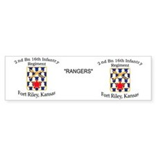 2nd Bn 16th Infantry mug Bumper Sticker