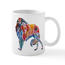 Borzoi in Many Colors Mug