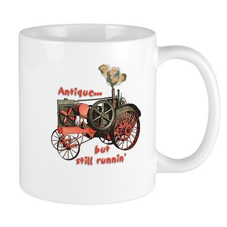 antique tractor Mug