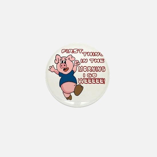 WeeeeePig-10 Mini Button
