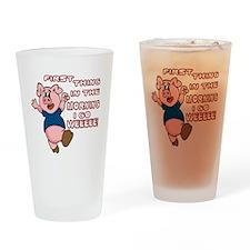 WeeeeePig-10 Drinking Glass