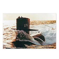 billfish large framed pri Postcards (Package of 8)