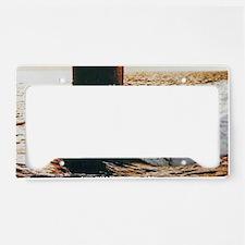 billfish greeting card License Plate Holder