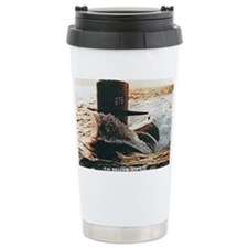 billfish framed panel print Travel Mug