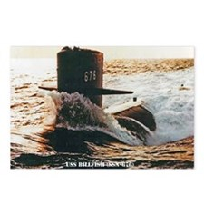 billfish framed panel pri Postcards (Package of 8)