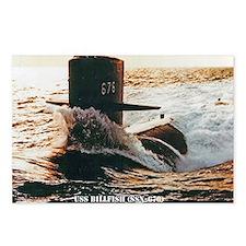 billfish notecard Postcards (Package of 8)