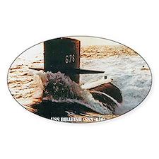 billfish postcard Decal