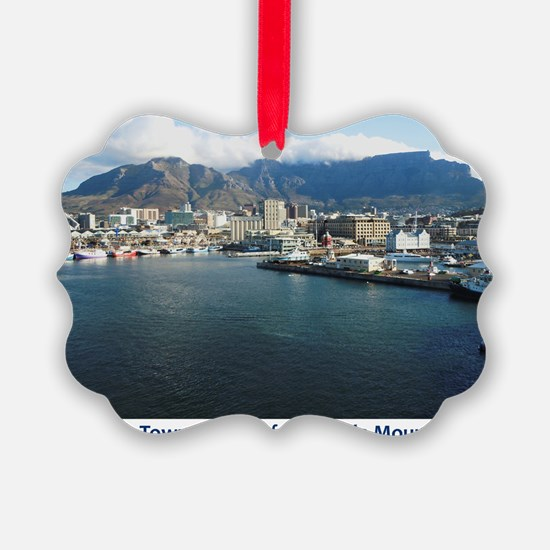Table Mountain Title Ornament