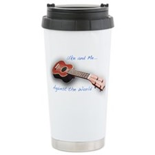 uke and me Travel Coffee Mug