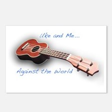 uke and me Postcards (Package of 8)