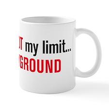 playground black and red Small Mug