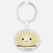lil_dumpling Oval Keychain
