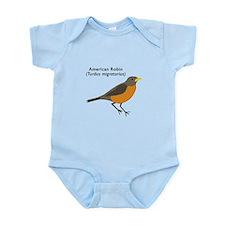 american robin Infant Bodysuit