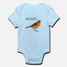 american robin Infant Bodysuit