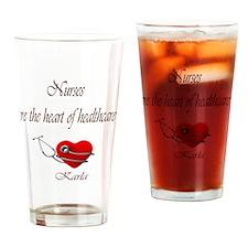 heartofhealthcareKarla Drinking Glass