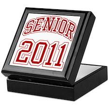 Senior of 2011 red Keepsake Box