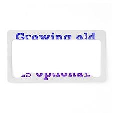 growingold_btle2 License Plate Holder