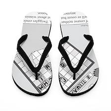 Rex and Ms. Twiggles Flip Flops