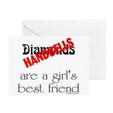 Girl's Best Friend Greeting Cards (Pk of 10)