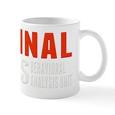 Criminal Minds Logo For Dark Mug