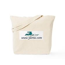 3Brew Entertainment Logo Tote Bag