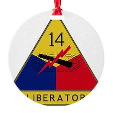 14th Armored Division - Liberators Ornament