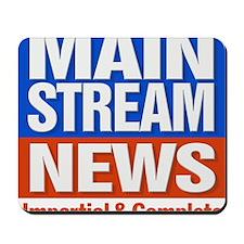 Mainstream_News Mousepad