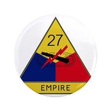 """27th Armored Division - Empire 3.5"""" Button"""
