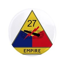 "27th Armored Division - Empire 3.5"" Button"