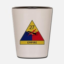 27th Armored Division - Empire Shot Glass