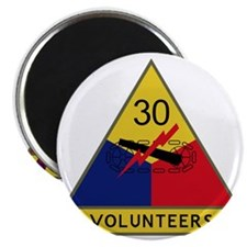 30th Armored Division - Volunteers Magnet
