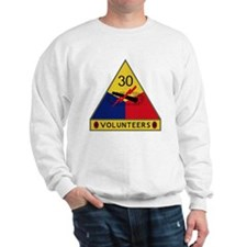 30th Armored Division - Volunteers Sweatshirt