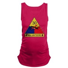 30th Armored Division - Volunte Maternity Tank Top