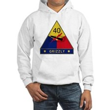 40th Armored Division - Grizzly Hoodie